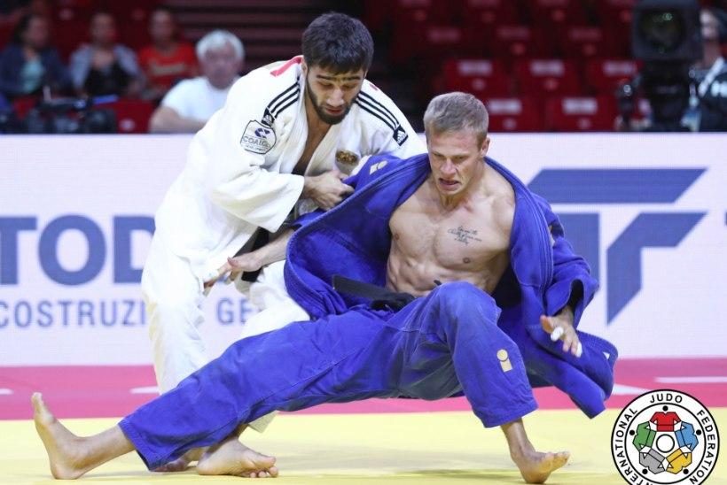 VIDEO   Tõniste jõudis Judo MMil 16 parema sekka