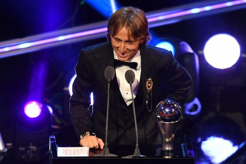 FIFA valis maailma parimaks jalgpalluriks Modrici! Ronaldo jäi esmakordselt tiitlita