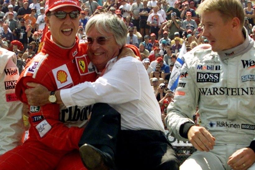 Häkkinen: Ferrari ja Vettel vajaksid hädasti Schumacheri abi