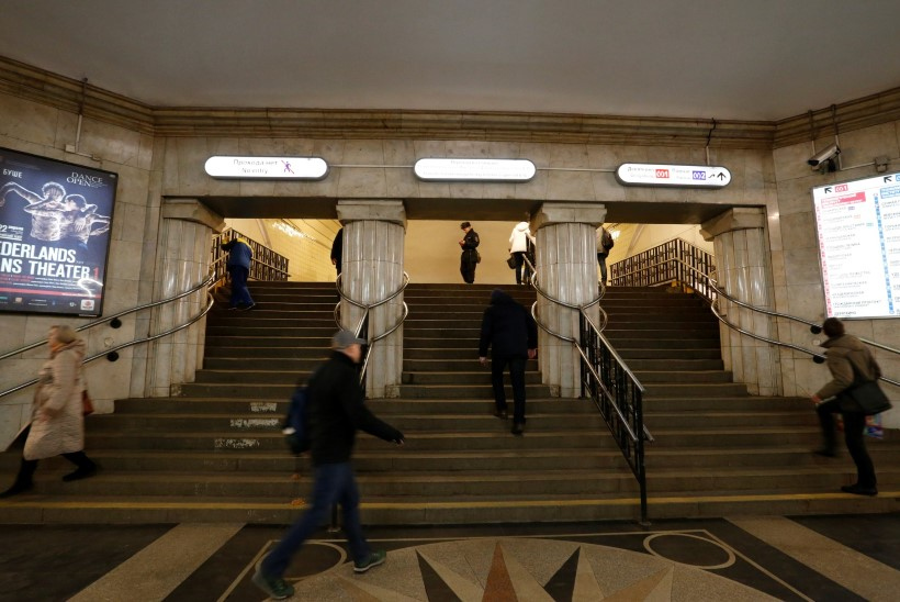 Peterburi metroos sündis laps