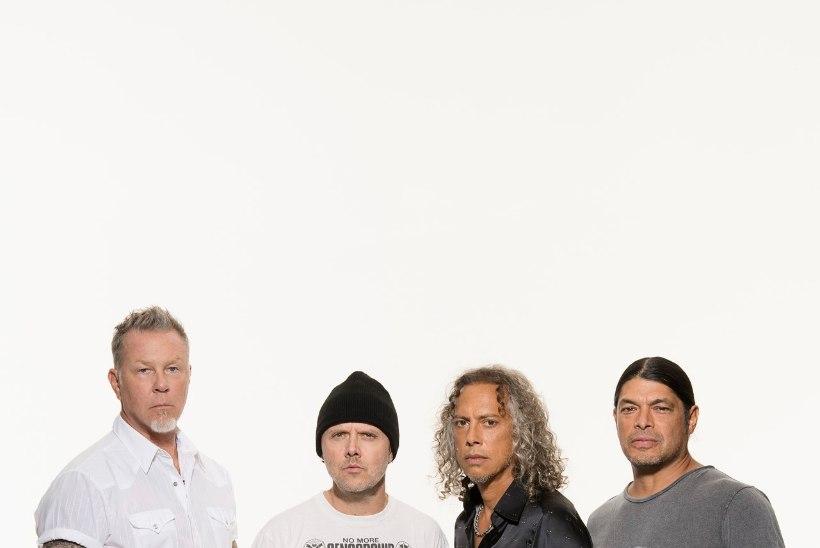 KINDEL VÄRK! Metallica annabki järgmisel suvel ERM-i õuel kontserdi