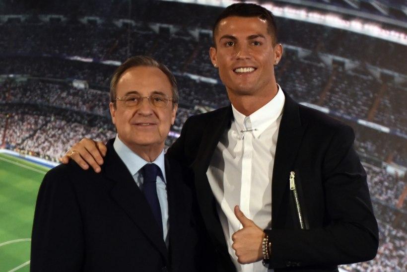 Madridi Reali president: Ronaldo naaseb ühel päeval koju