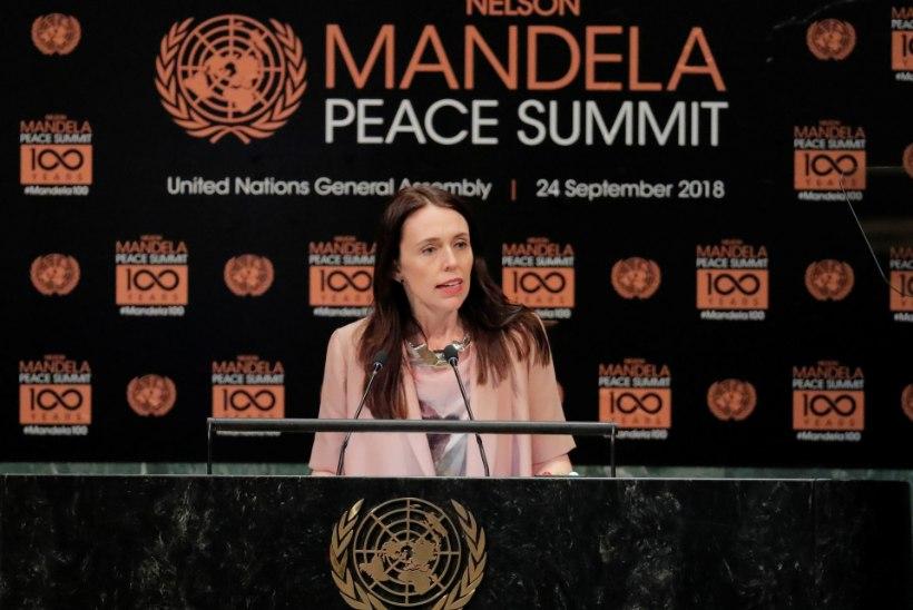 FOTOD | Uus-Meremaa peaminister võttis ÜRO-sse kaasa kolmekuuse beebi