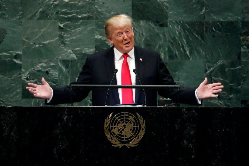 ÜRO peaassamblee naeris Trumpi üle
