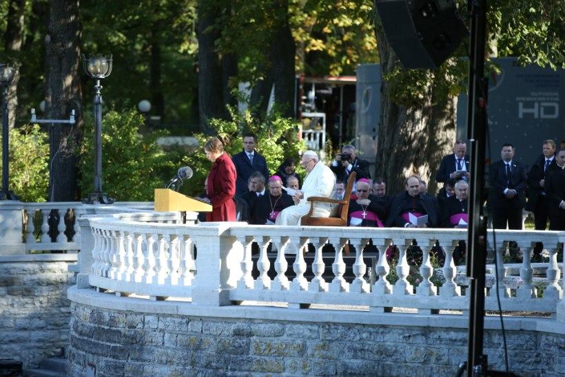 President kõnes kohtumisel paavstiga: meie kõigi ühine vastutus on leida lahendused maailma muredele