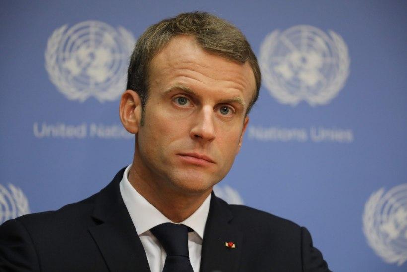 BBC: Prantslased peavad Macroni tundetuks ja ülbeks