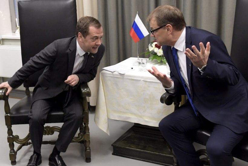Venemaa peaminister täna visiidil Soomes