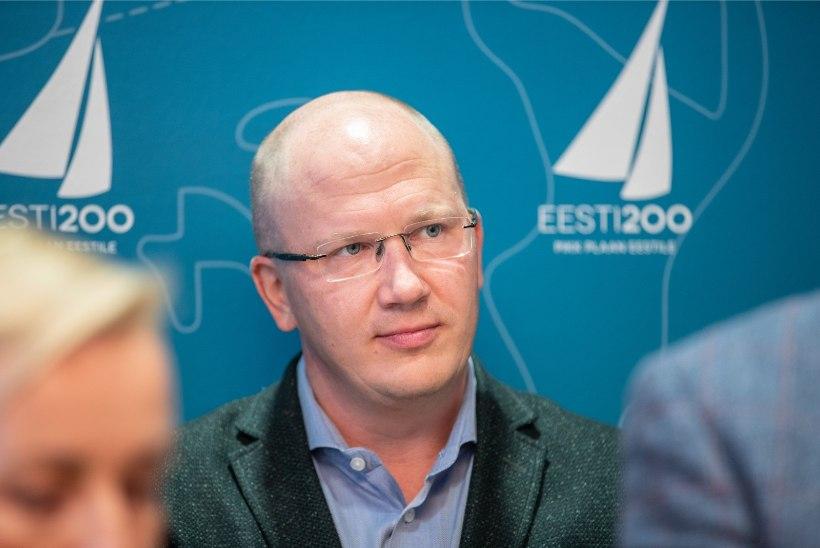 Eesti 200 peaministrikandidaat Priit Alamäe: me ei lähe kellelegi raha lubama. See on vale, riigil ei ole raha