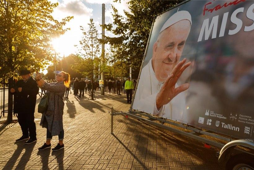 Paavst Franciscuse ühepäevane visiit läks maksma ligi 37 000 eurot, täpne summa alles selgub