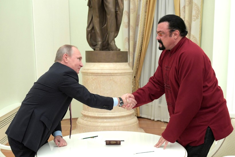 Märulimees Steven Seagal pakub end Primorje krai kuberneriks