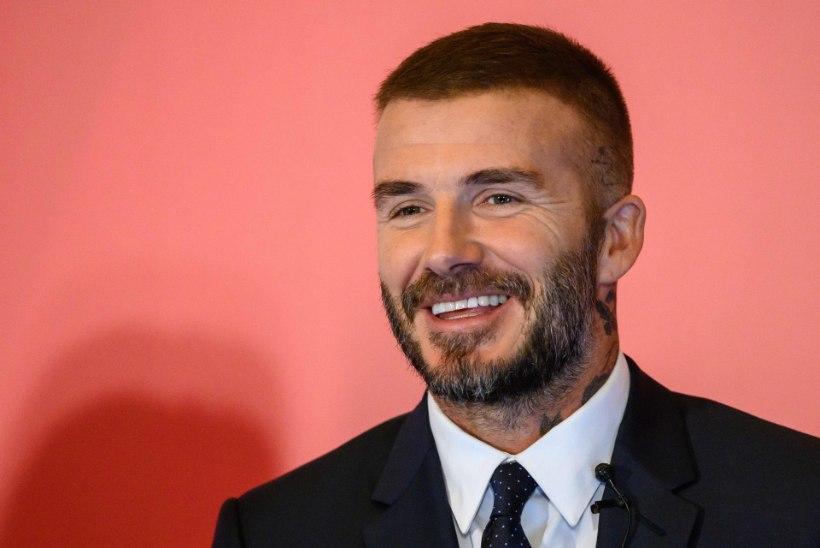 David Beckham kasutab hõreda pealae varjamiseks aerosooli?!