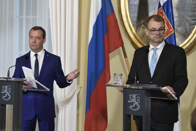 MEDVEDEV: jutud Vene salabaasidest Soomes on haige väljamõeldis