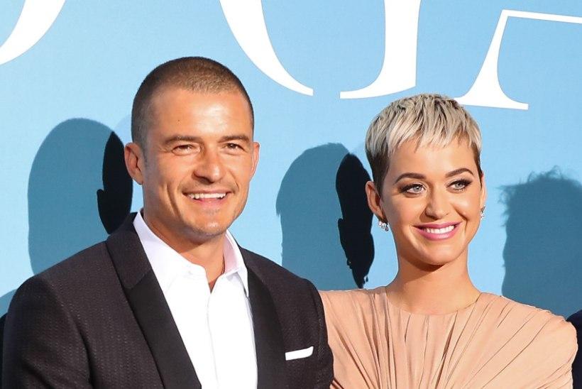 Katy Perry ja Orlando Bloom astusid armupaarina tähtsa sammu