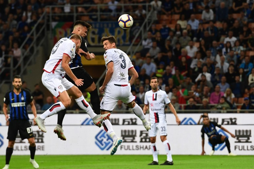 Cagliari kaotas Interile, Klavani etteaste jäi poolikuks