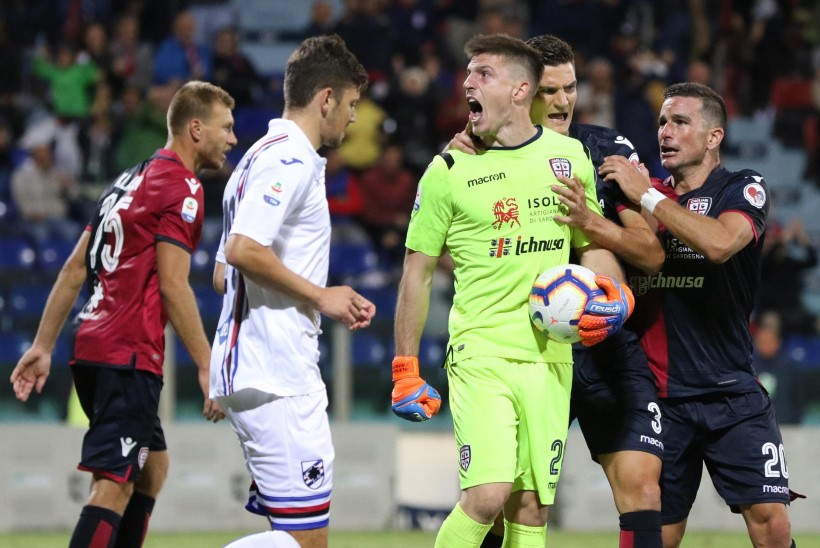 Väravapõuas Cagliari loodab Interi vastu tugevale kaitsele