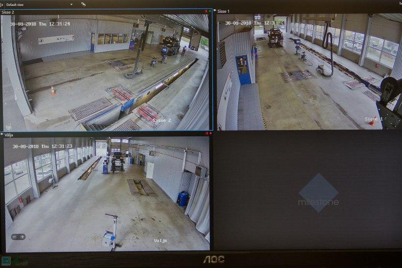 ÜLEVAATUS NAGU KINO: tähenärijaks sunnitud tehnoülevaatajad higistavad kohustuslike piilukaamerate ees
