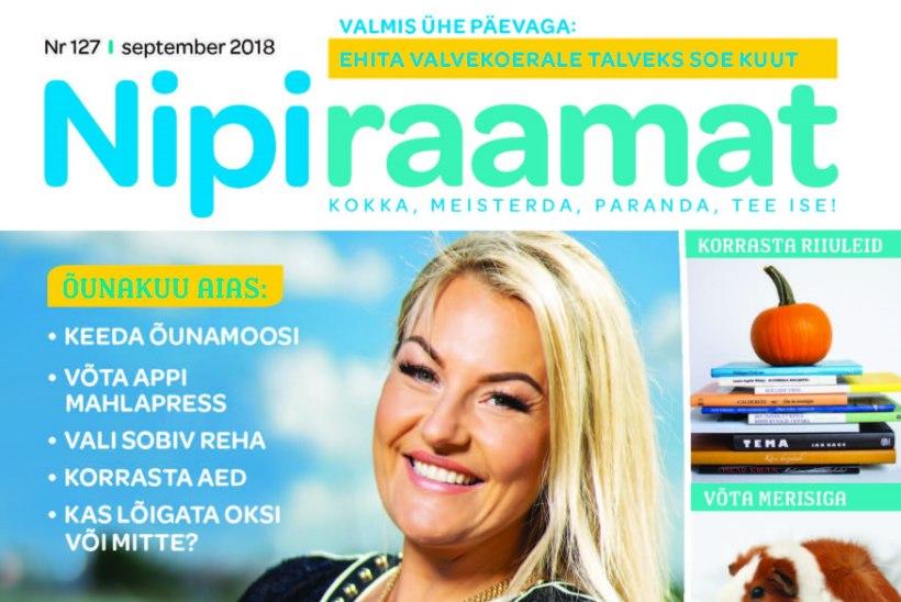 Septembri Nipiraamat on ilmunud!