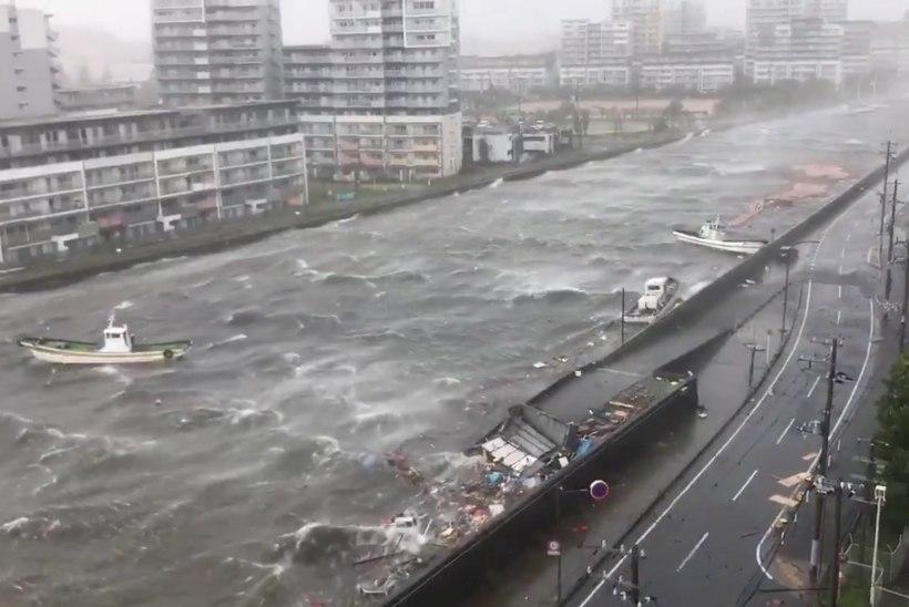 FOTOD | Jaapanit tabas viimase veerandsajandi suurim taifuun
