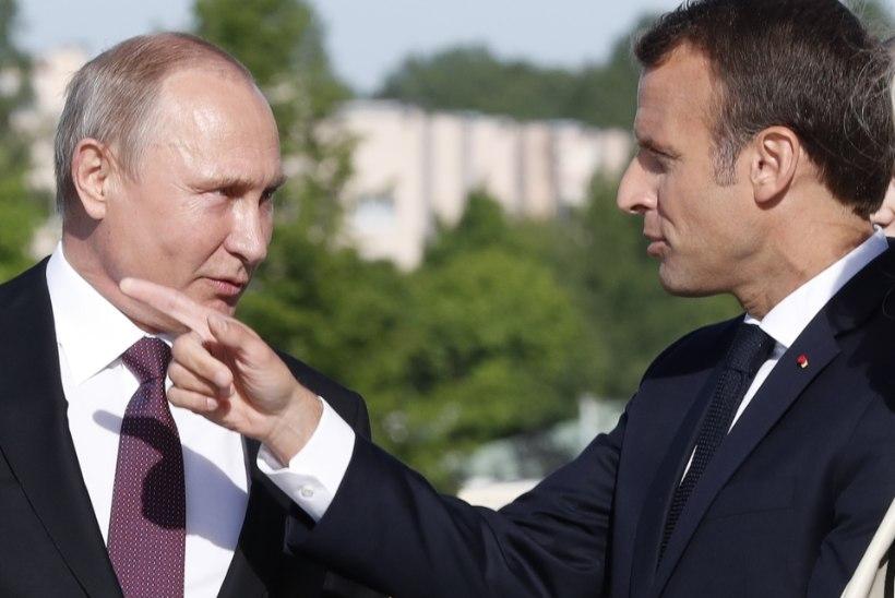 MACRON: Putin unistab Euroopa Liidu lagunemisest