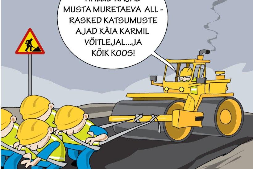 Vambola Paavo | Naabrid on teede ehitamisel ärksamad