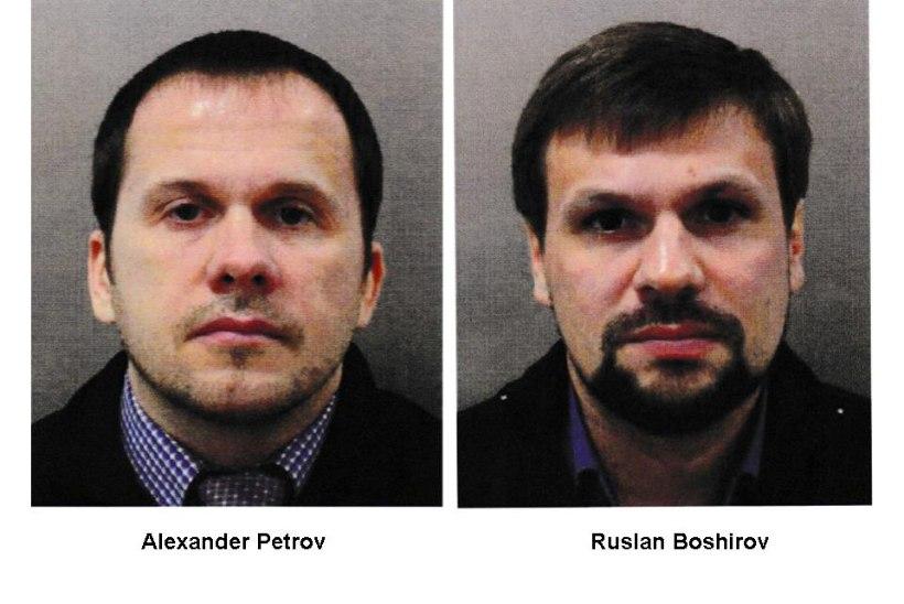 SKRIPALI JUHTUM: Briti võimud kuulutasid kaks venelast tagaotsitavaks