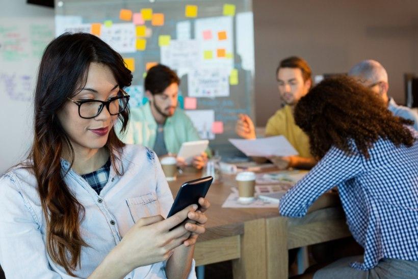 Nutitelefon sööb loovuse ja keskendumise