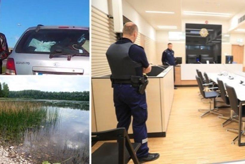 """Фото: печально известный """"водитель с битой"""" предстал перед судом за жестокое убийство"""