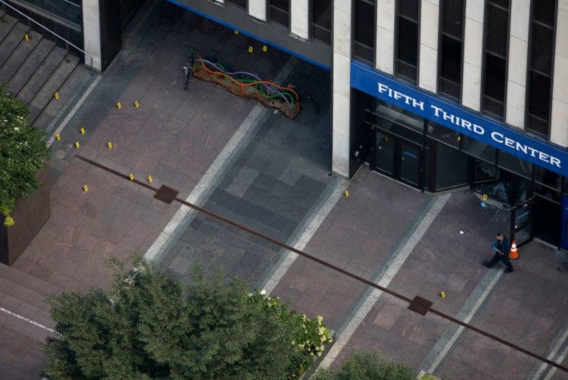 Cincinnati pangahoones toimunud tulistamises hukkus kolm inimest
