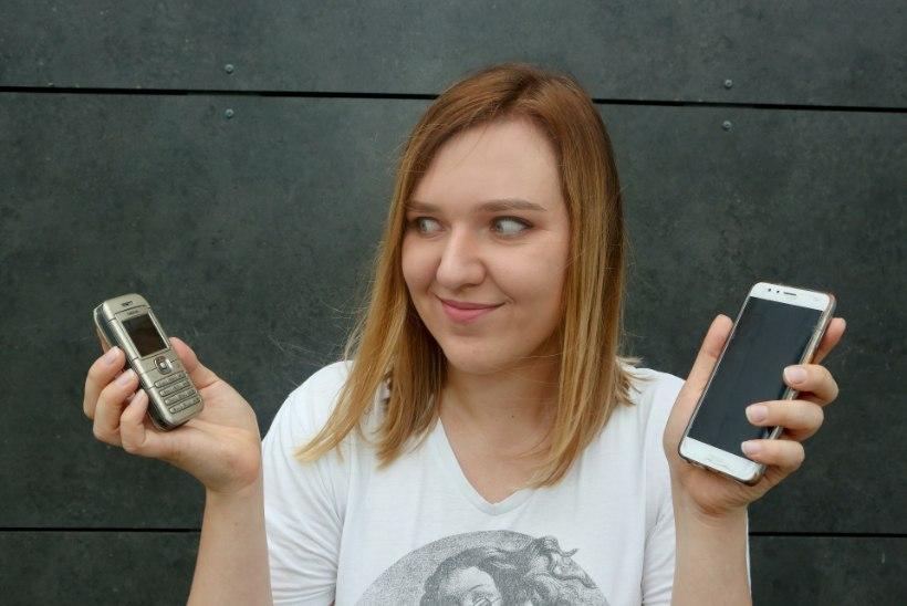 AJAKIRJANIK KATSETAS: nutipaast ehk TERVE KUU nutitelefonita