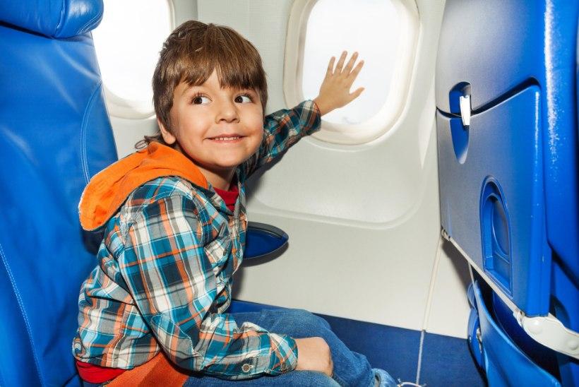 Appi! Laps peab üksi lendama