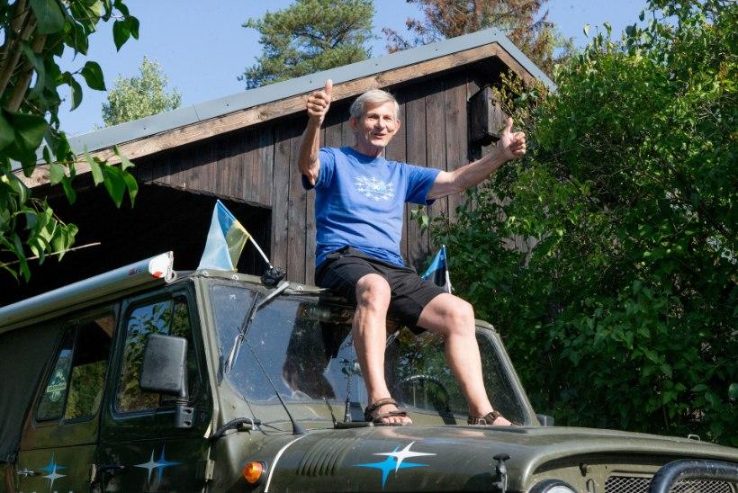 """Külalislahkusest kurnatud villisemees Arno tuli Ukraina-reisilt: """"Nelja aasta pärast lähen Sahhalinile, kui tervis lubab!"""""""