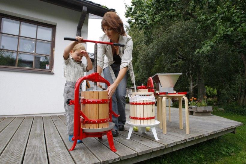 ÕL VIDEO | Teeme ise koduste vahenditega odava õunapressi!