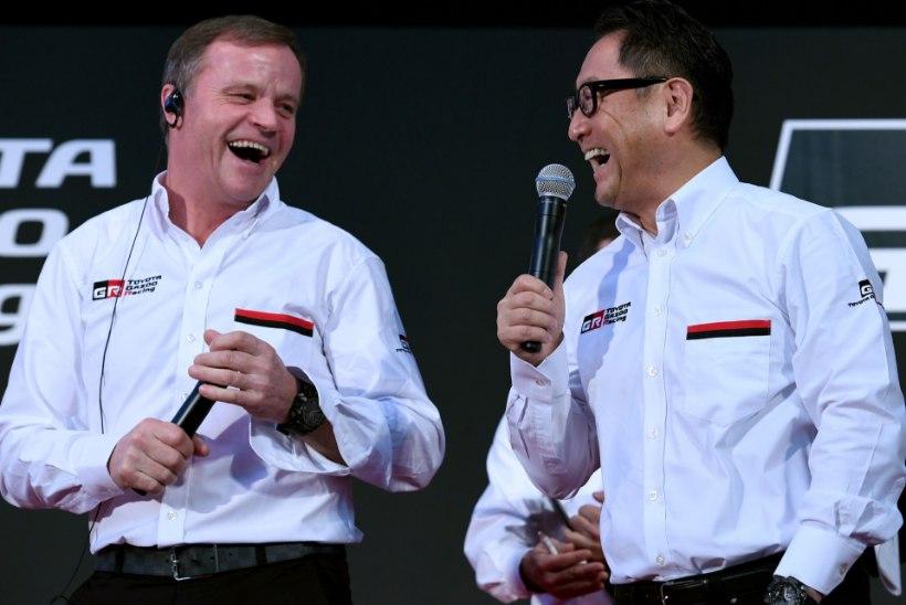 Toyota tiimi mootorispetsialist: andsime Mäkinenile 200 head põhjust, kuid ta polnud ikka rahul!