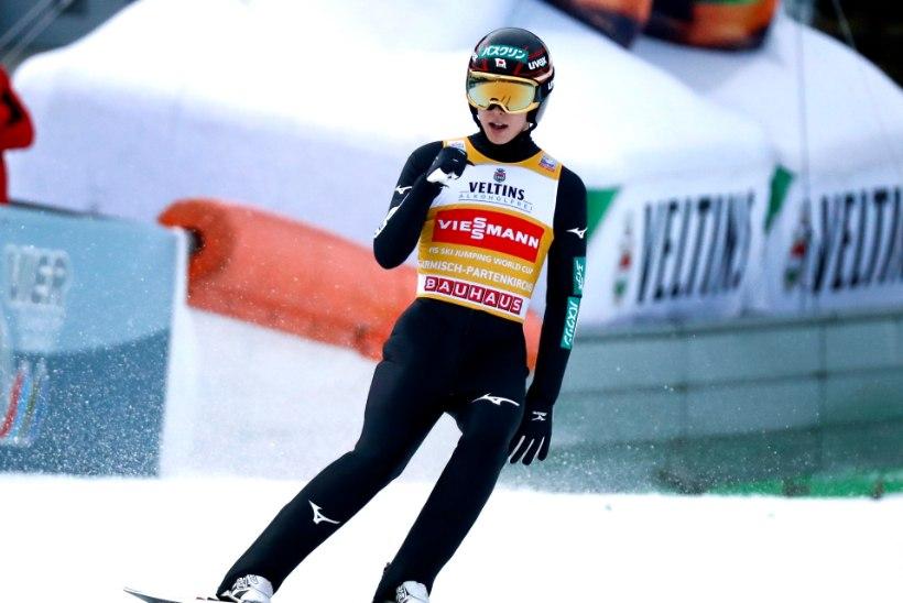 Suusahüppajate Kesk-Euroopa turnee: jälle Ryoyu Kobayashi, kes muu!