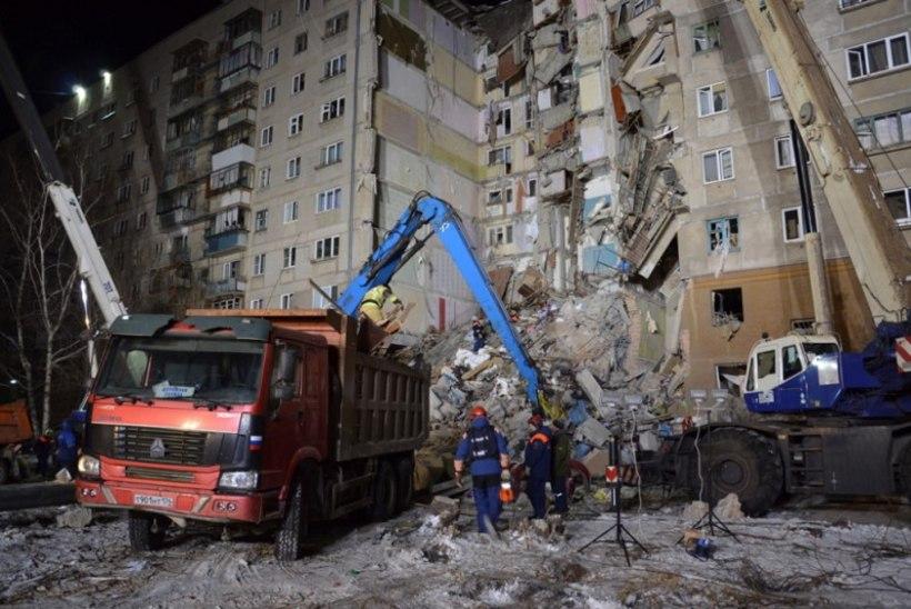TRAGÖÖDIA: Venemaal lendas kümnekorruseline maja õhku