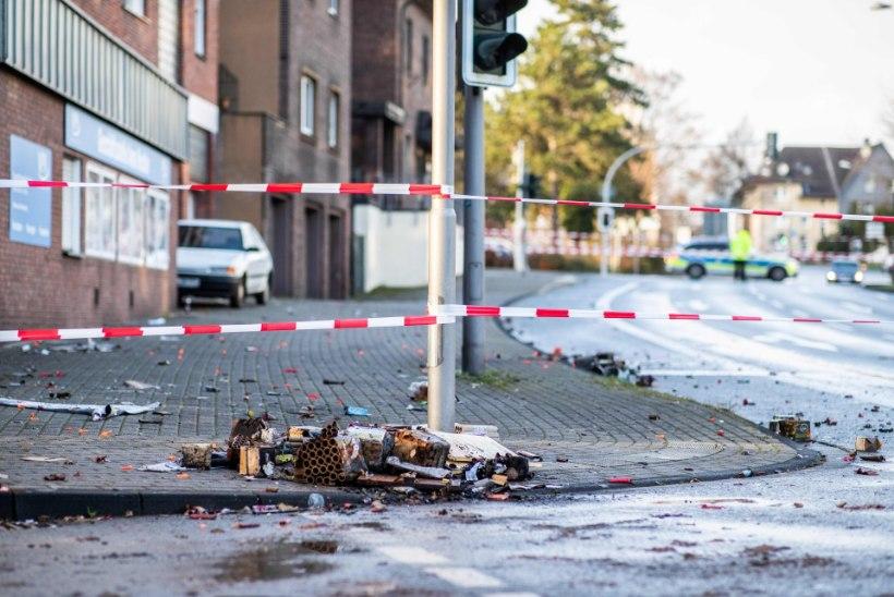 Pagulastevihkaja sõitis Saksamaal autoga jalakäijate sekka