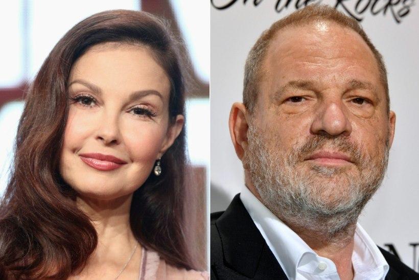 Ashley Judd jäi kohtus Harvey Weinsteinile alla