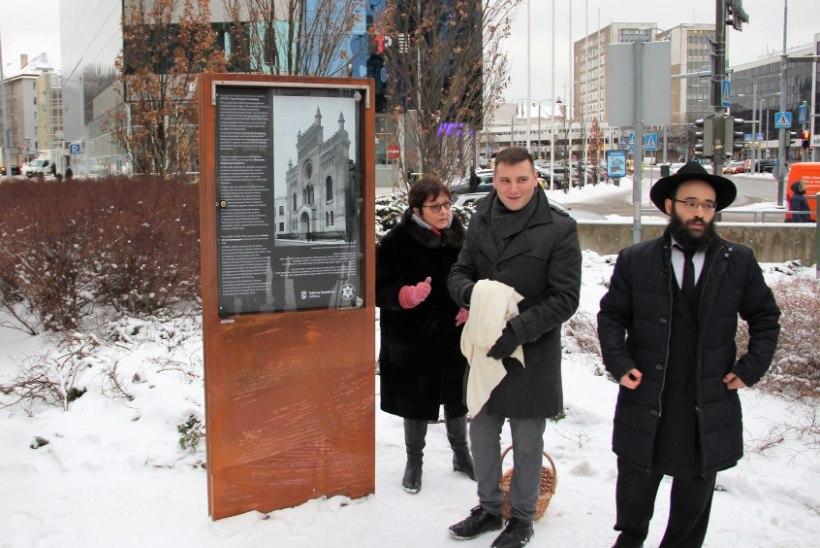 Kunagine sünagoog tähistati Tallinnas infotahvliga