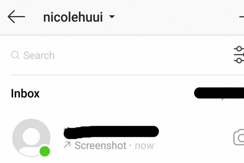 Instagram annab märku, kui keegi su fotost kuvatõmmise teeb
