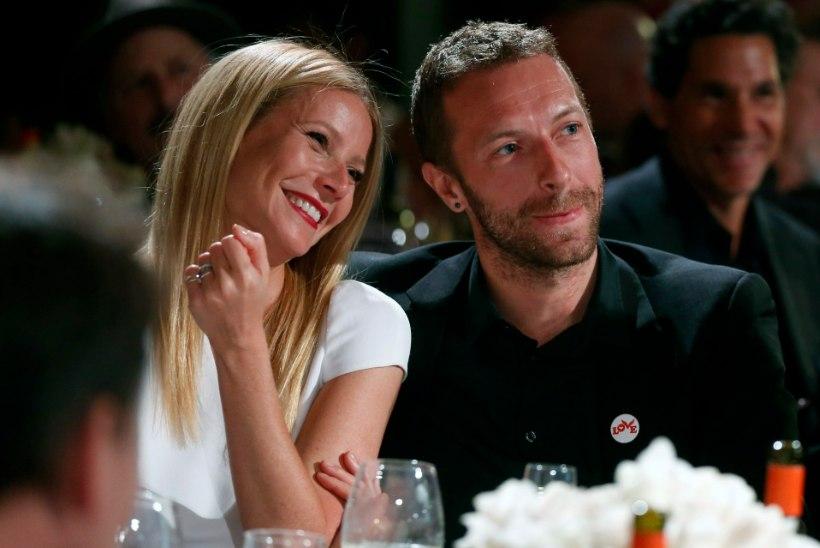 TÕELINE KÄRGPERE: Gwyneth võttis mesinädalatele kaasa oma eksmehe