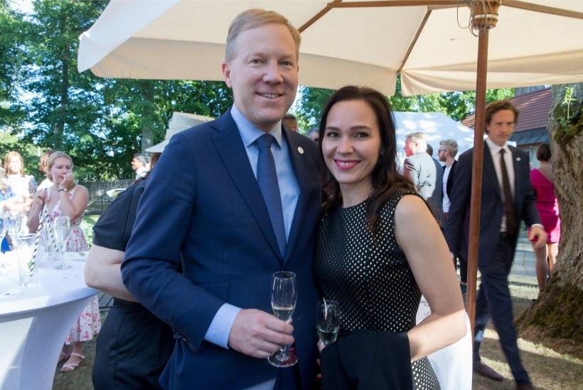 Riigikogu liige Marko Mihkelson kihlus