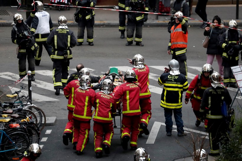 Tugev plahvatus Pariisis: majad on lõhki rebitud, hukkus neli inimest