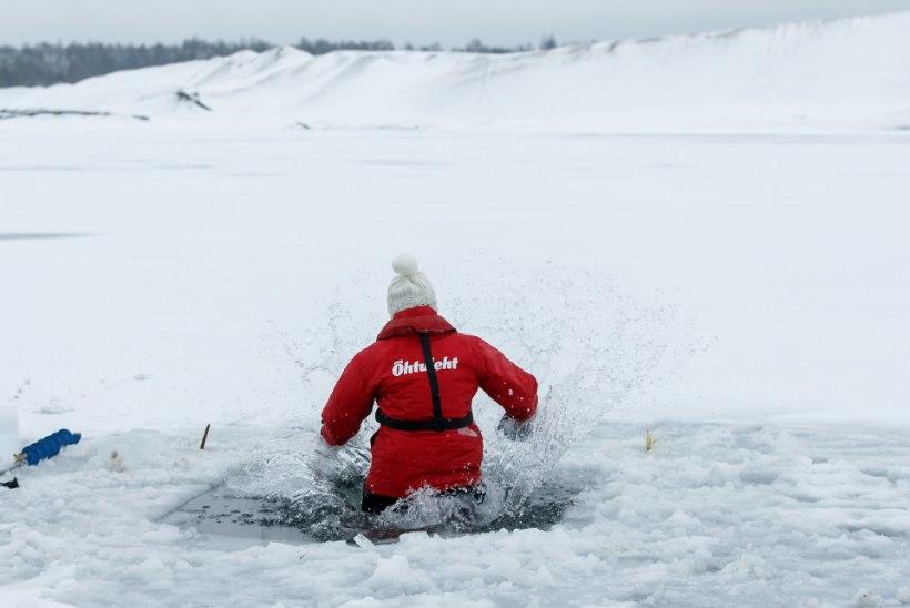 ÕL VIDEO JA GALERII | NÄPUD JÄÄS JA HING KINNI: kuidas jääaugust eluga välja pääseda