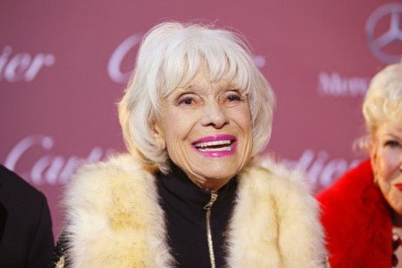 Suri Broadway näitleja Carol Channing