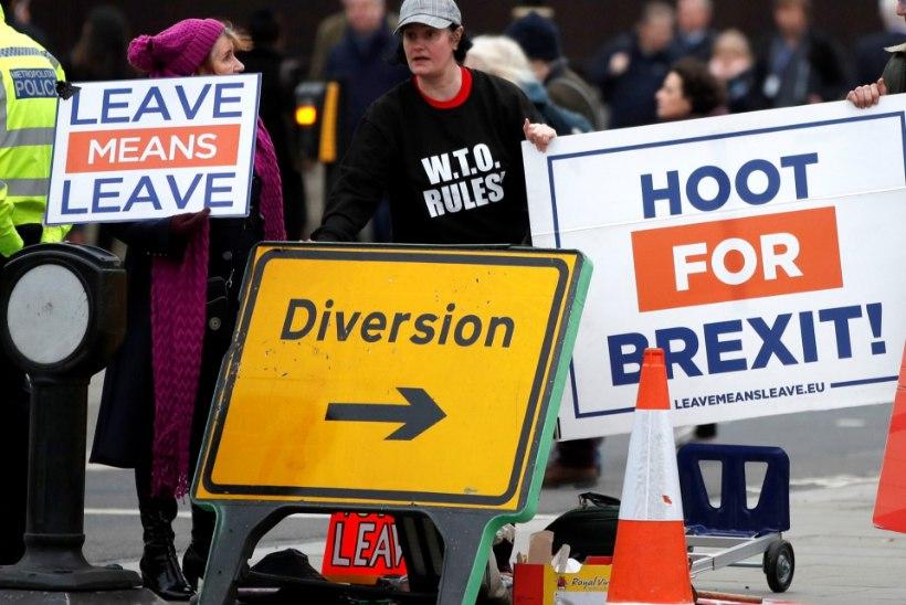 BREXITI SAATUS: Briti parlamendis toimub peagi hääletus May leppe üle
