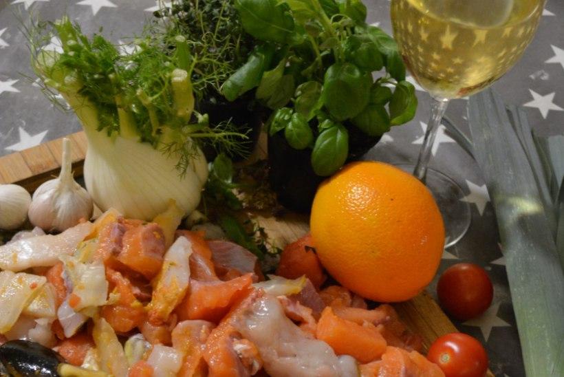 Marseille' kalameeste klassika bouillabaisse ehk prantslase mõjutused Pajuvärava köögis