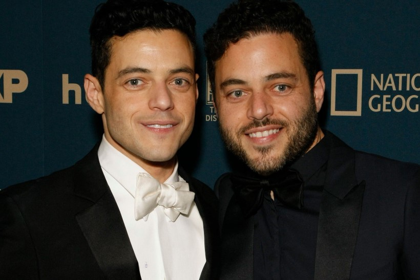Kas teadsite, et Rami Malekil on vähemalt sama nägus kaksikvend?