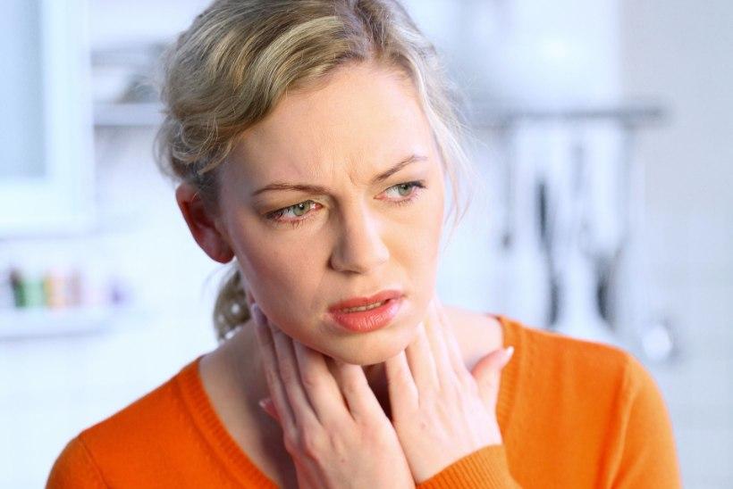 HAMBAARST: nohu ja kurguvalu mõjutavad ka hambaid ja igemeid