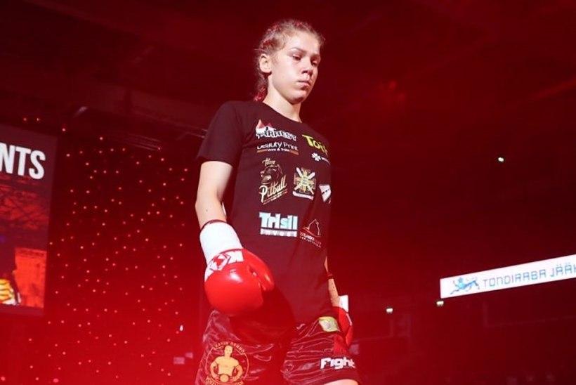 Naissõdalane Astrid Johanna: võitlussport annab igal juhul enesekindlust, ole sa mees või naine!