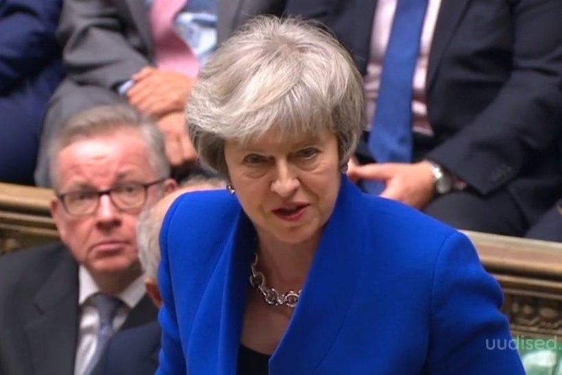 TV3 VIDEO   Briti peaminister May helistas Brexiti asjus Junckerile